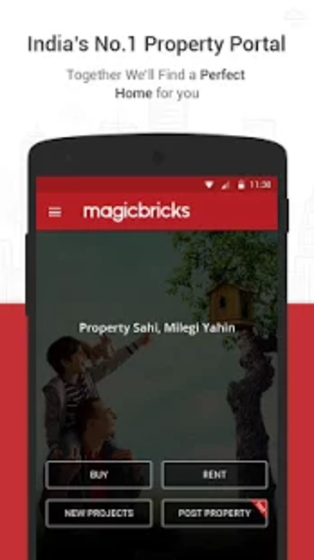 MagicBricks Property Search for Android - Download
