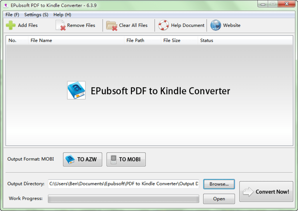 PDF to Kindle Converter - Download