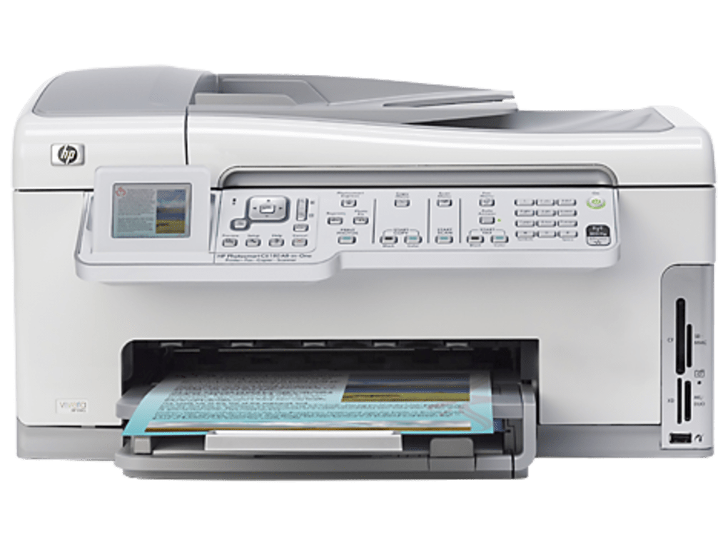 HP Photosmart C6180 All-in-One Printer drivers - Download
