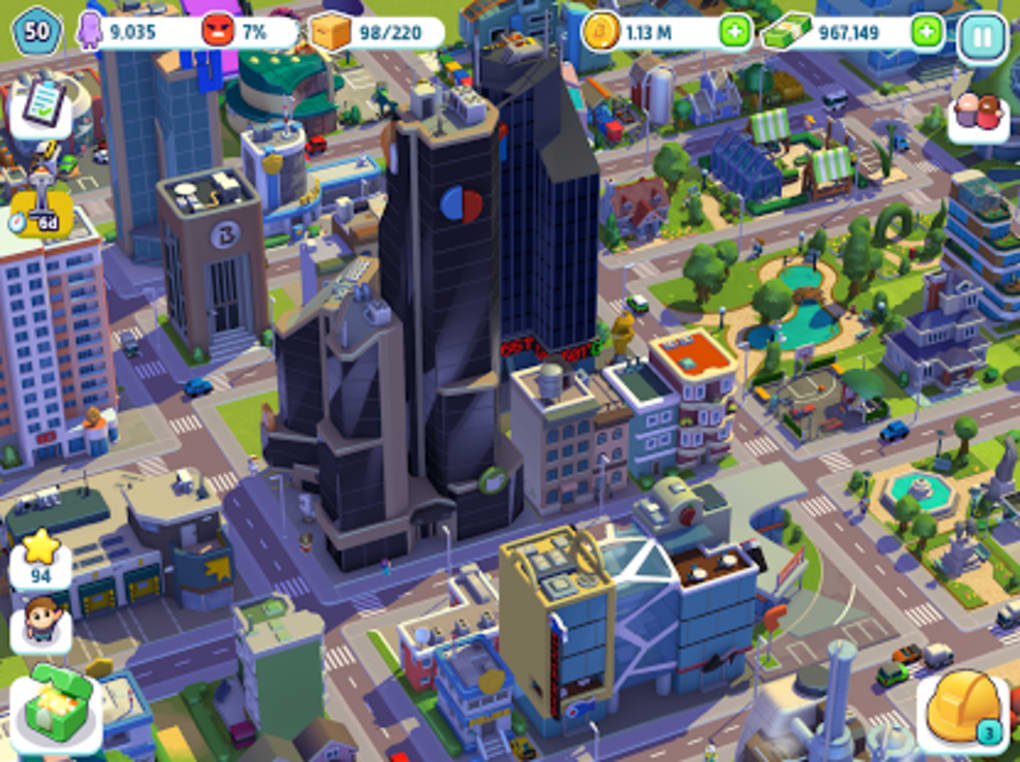 city mania town building game for android download