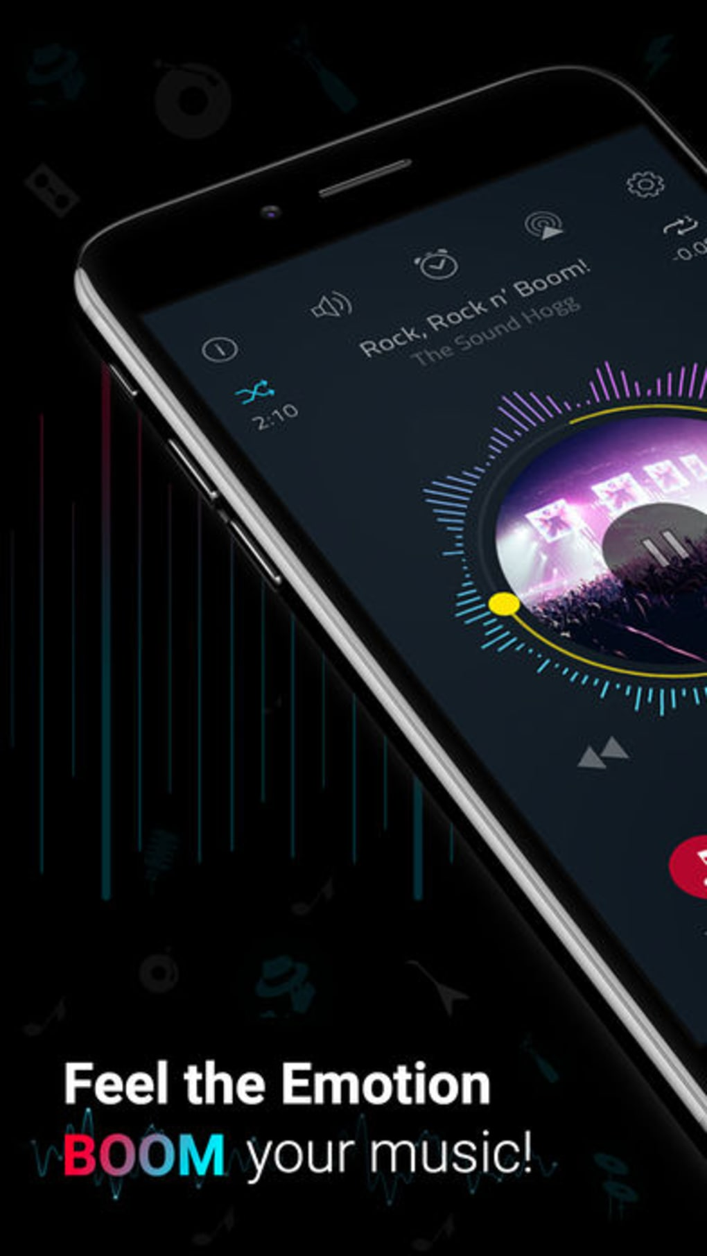 Boom: Music Player & Equalizer for iPhone - Download