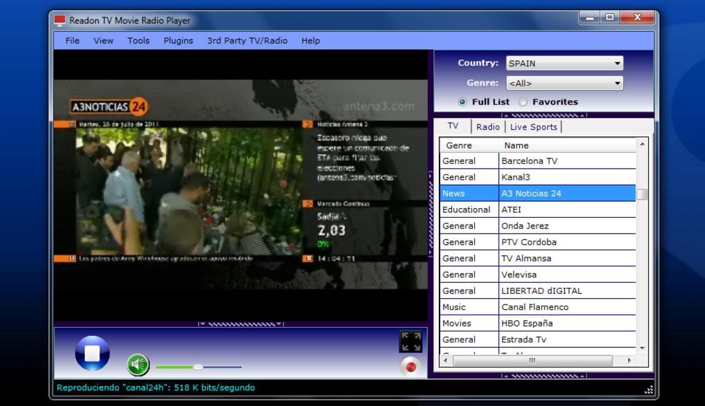 GRATUIT TV PLAYER GRATUIT TÉLÉCHARGER MOVIE READON RADIO