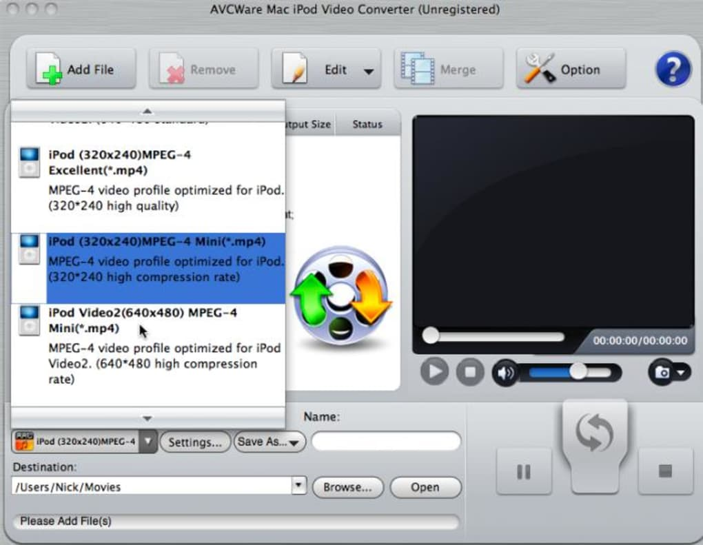 Avcware Mac Ipod Video Converter Mac Download