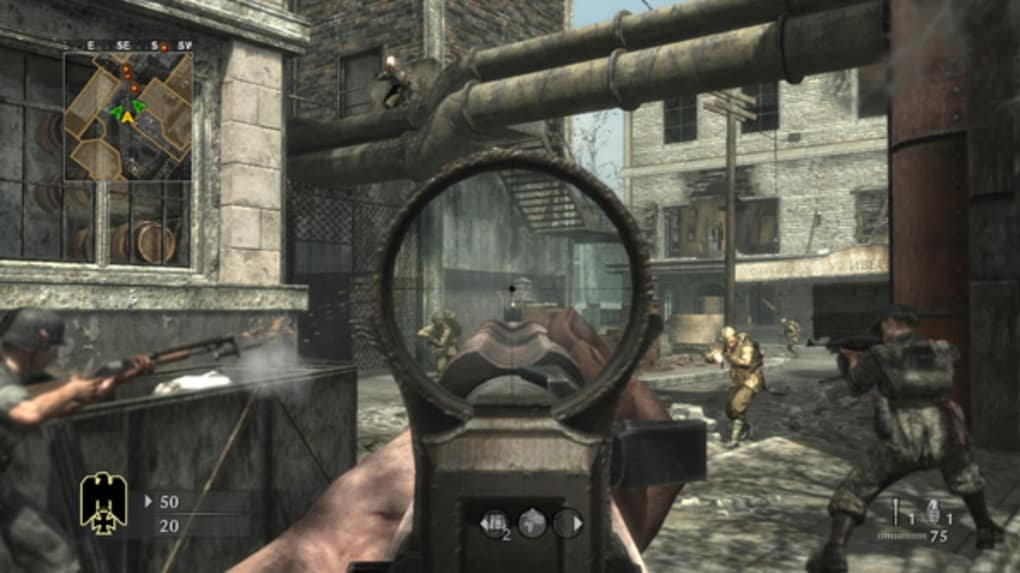 Hasil gambar untuk gambar game Call of Duty: World at War