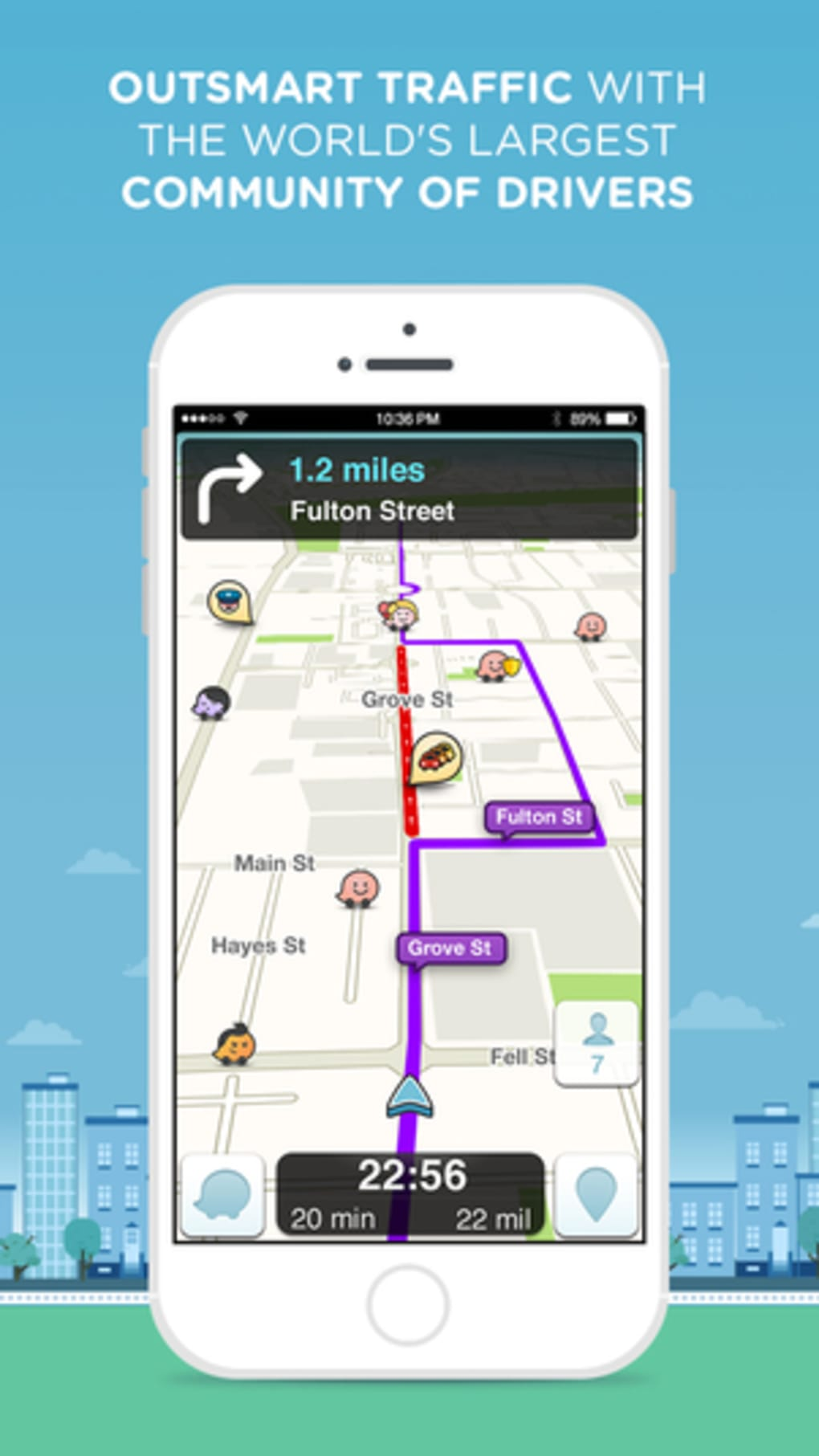 waze per iphone