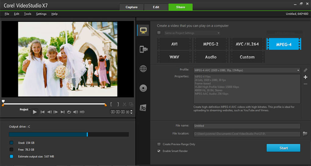 corel videostudio pro x2 activation code free