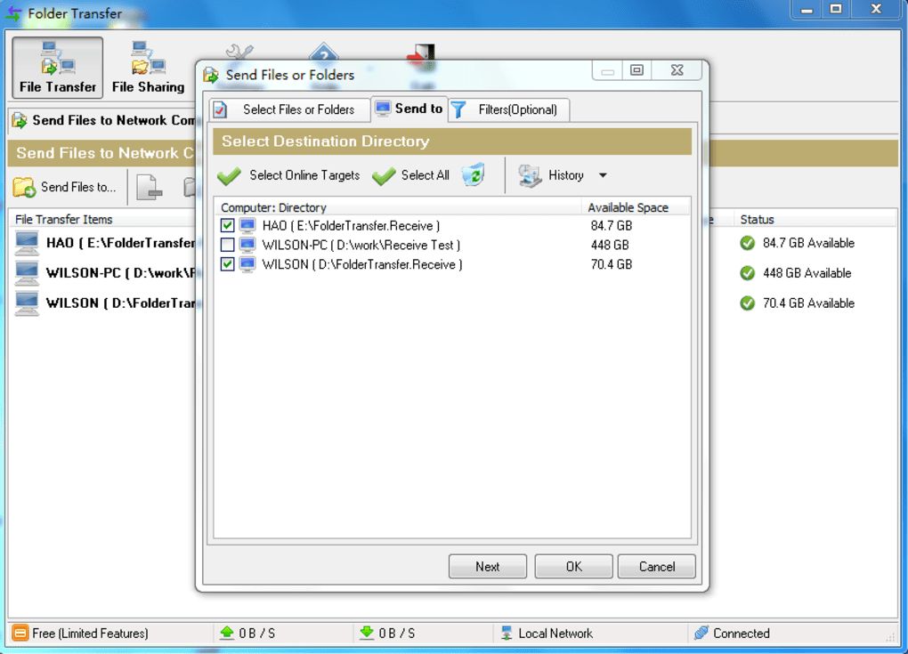 free file sharing software for pc
