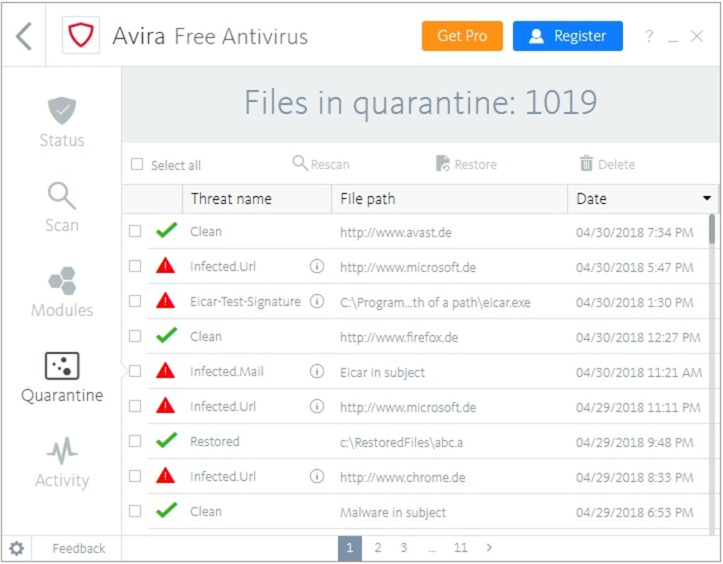 Avira Free Antivirus - Download