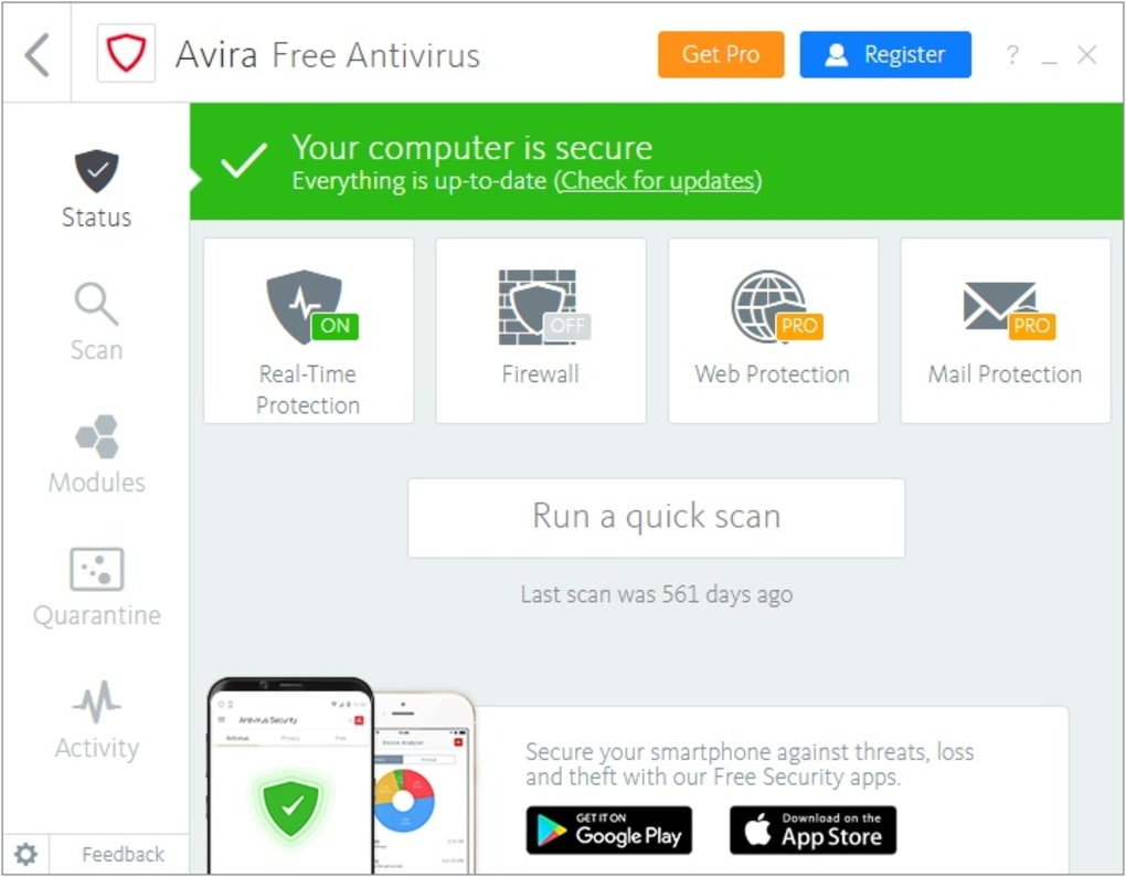 avira in italiano gratis