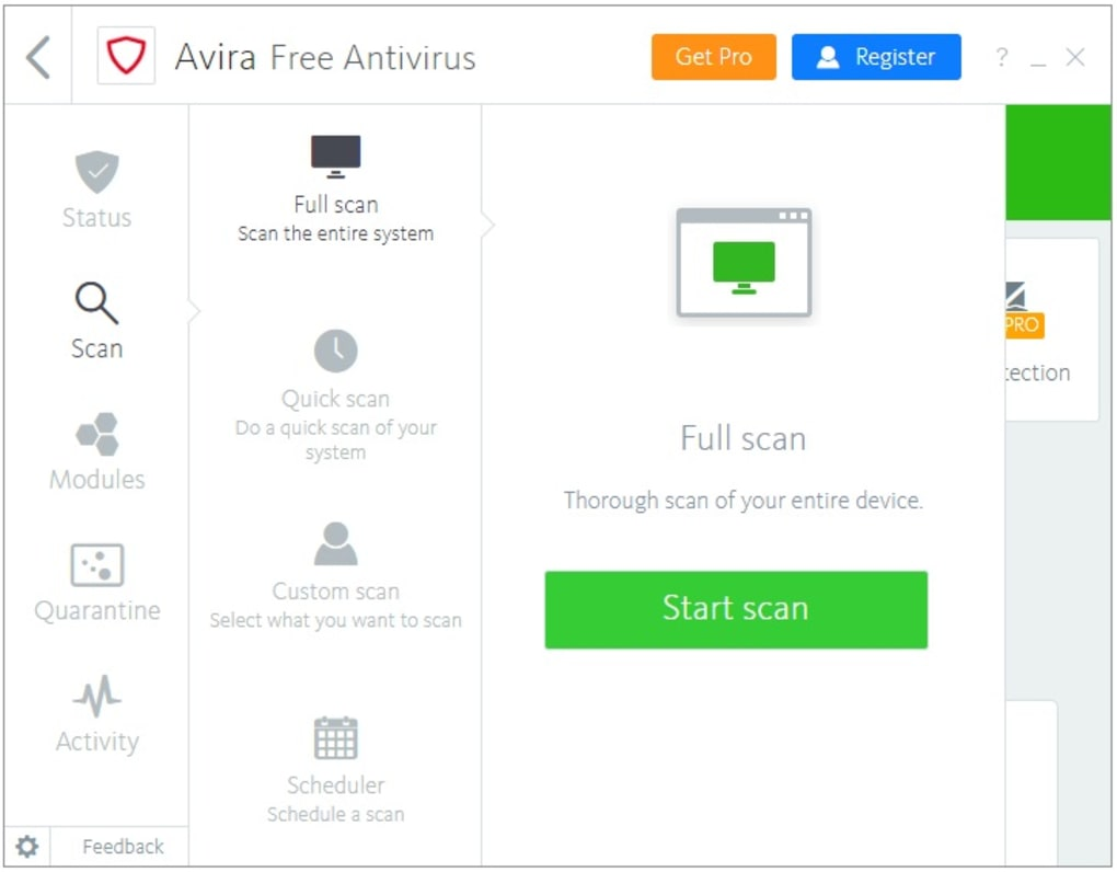 avira antivir freeware