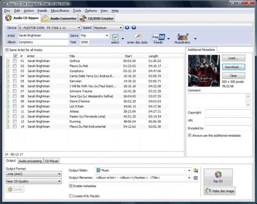 Easy Cd Da Extractor Download