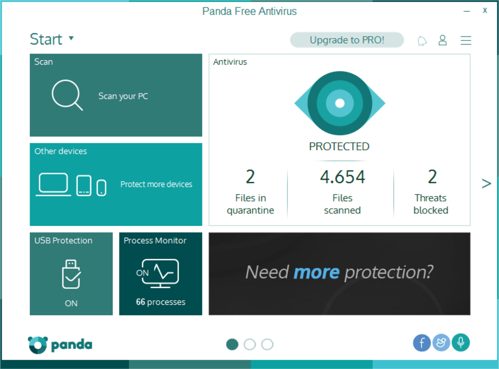 Panda Free Antivirus - Download