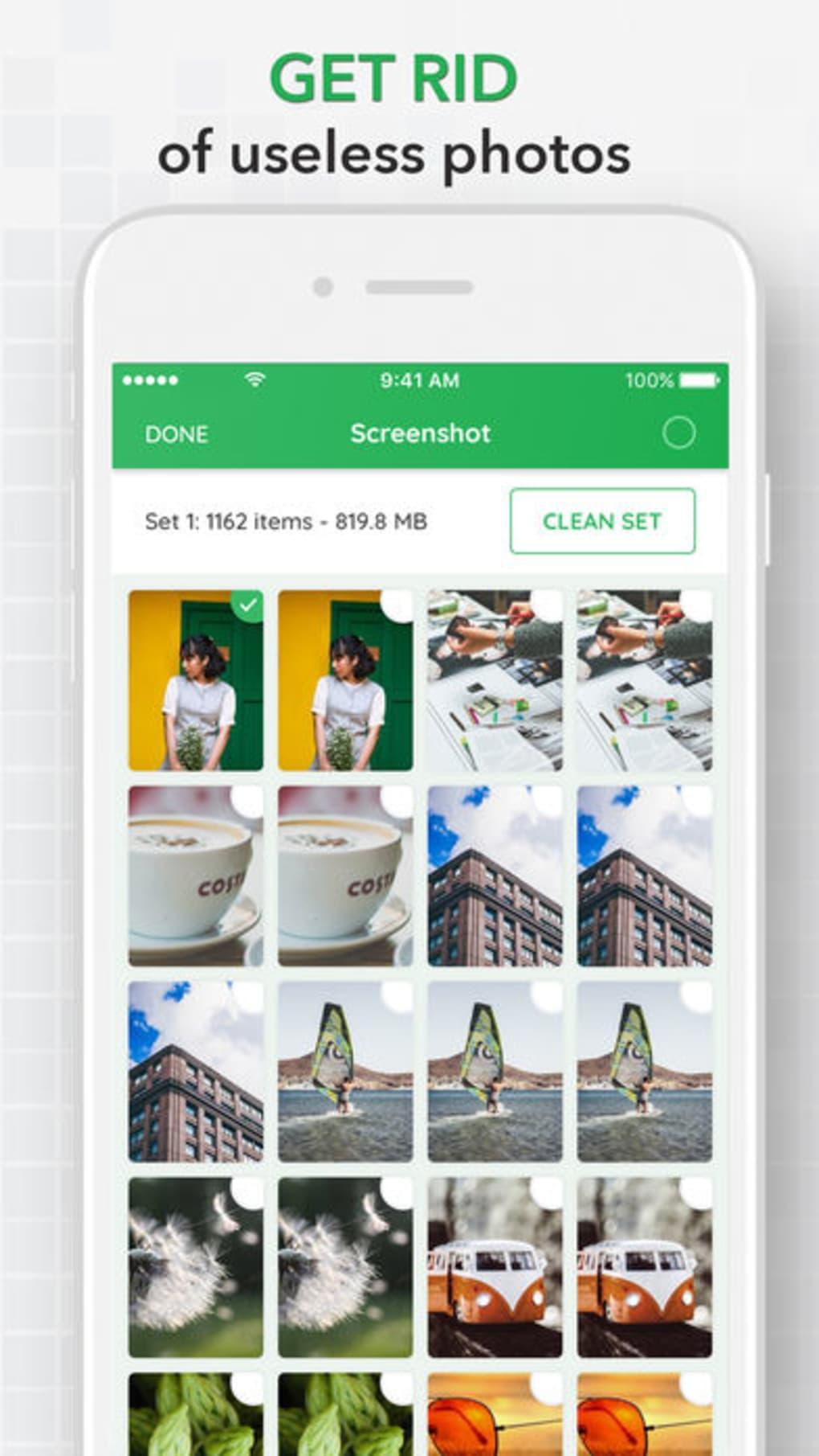 cleaner app für iphone