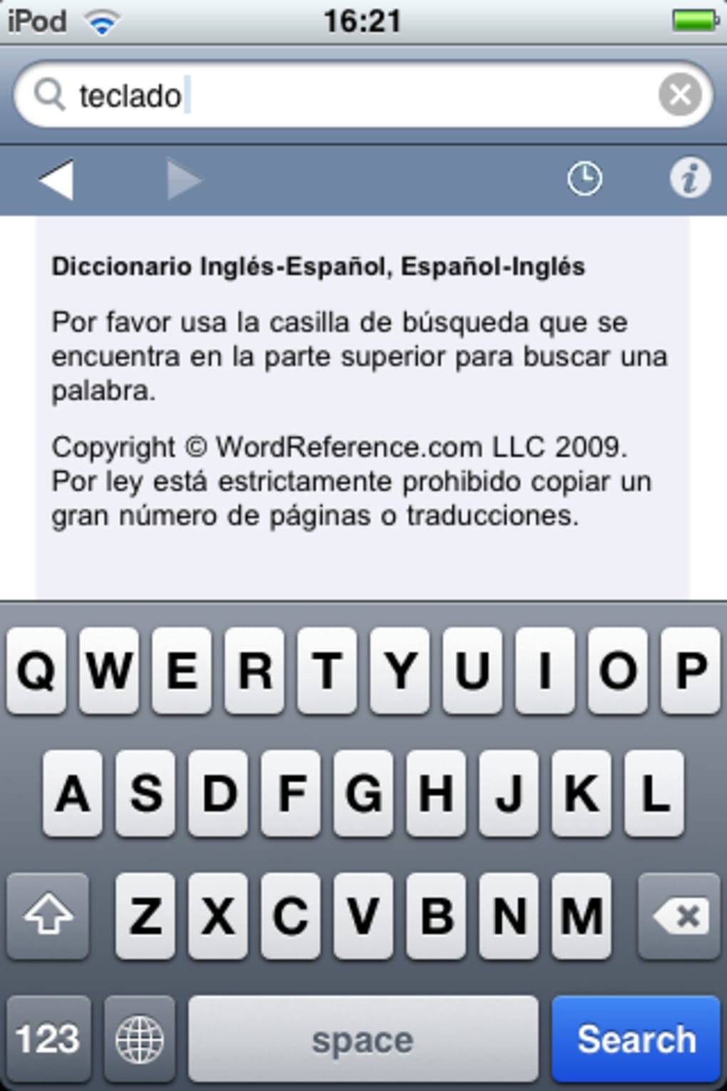 WordReference com for iPhone - Download