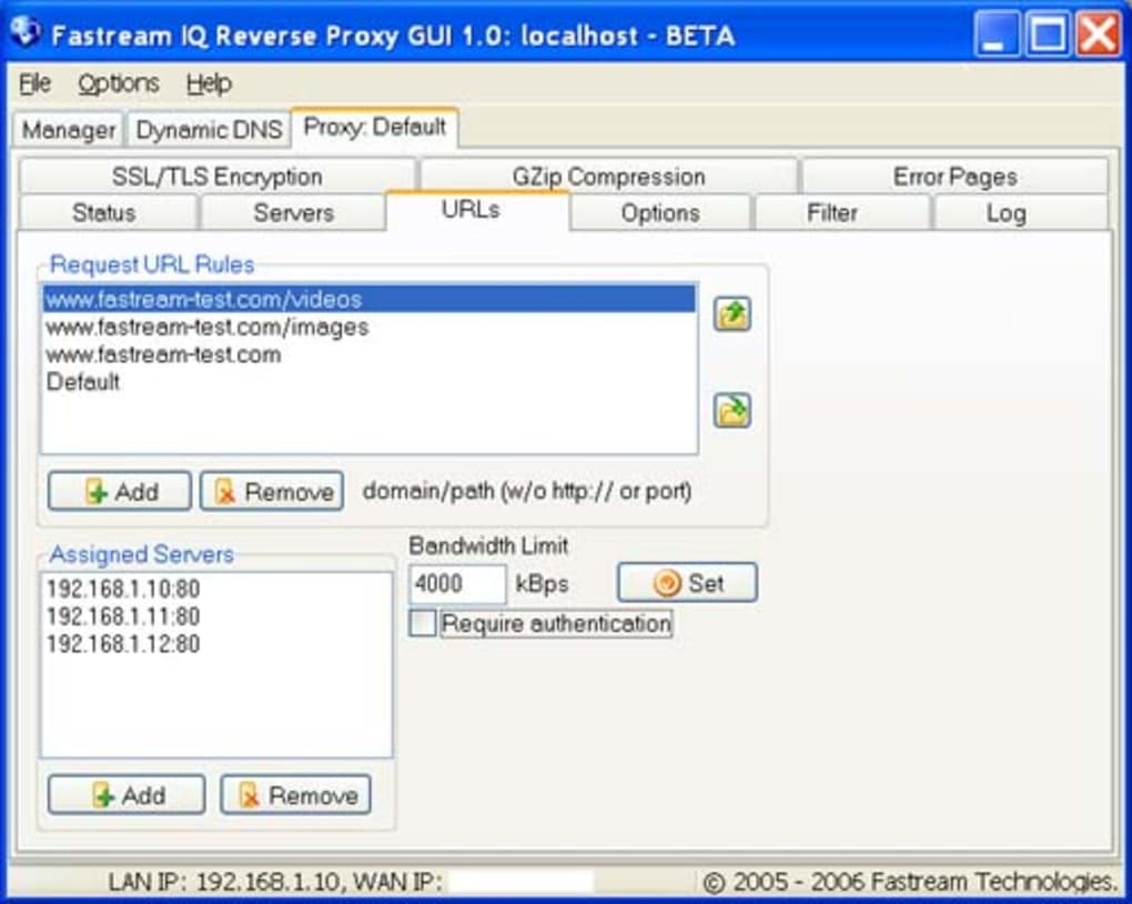 Fastream IQ Reverse Proxy - Download