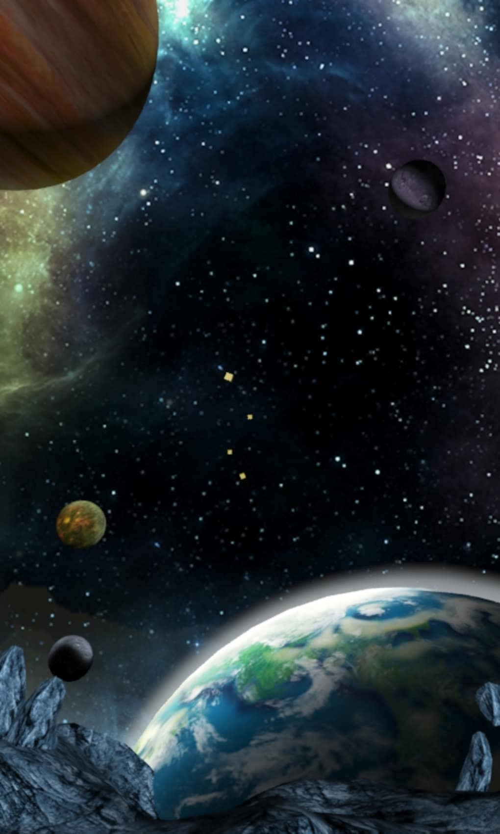 3d Galaxy Live Wallpaper For Android Free Download Latest
