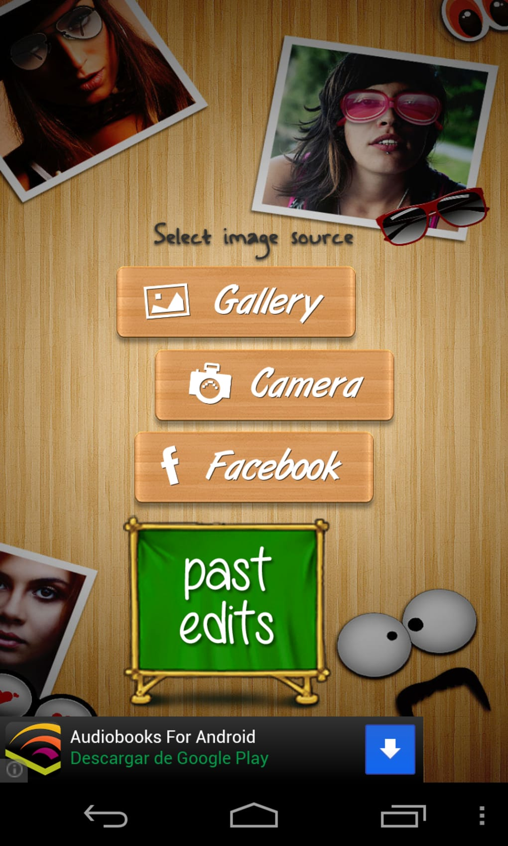 changer visage photo android