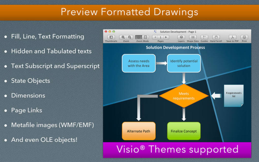 visio viewer for mac free download