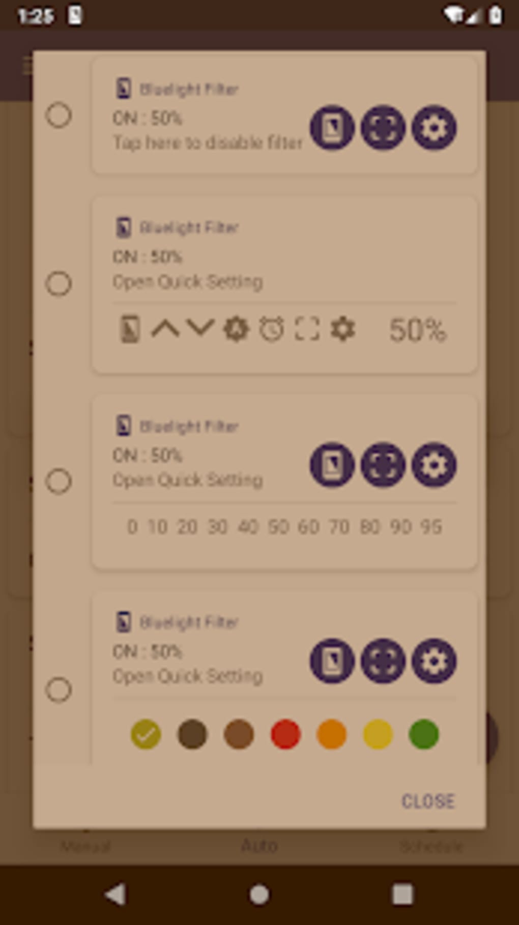 Bluelight Filter for Eye Care - Auto screen filter for Android