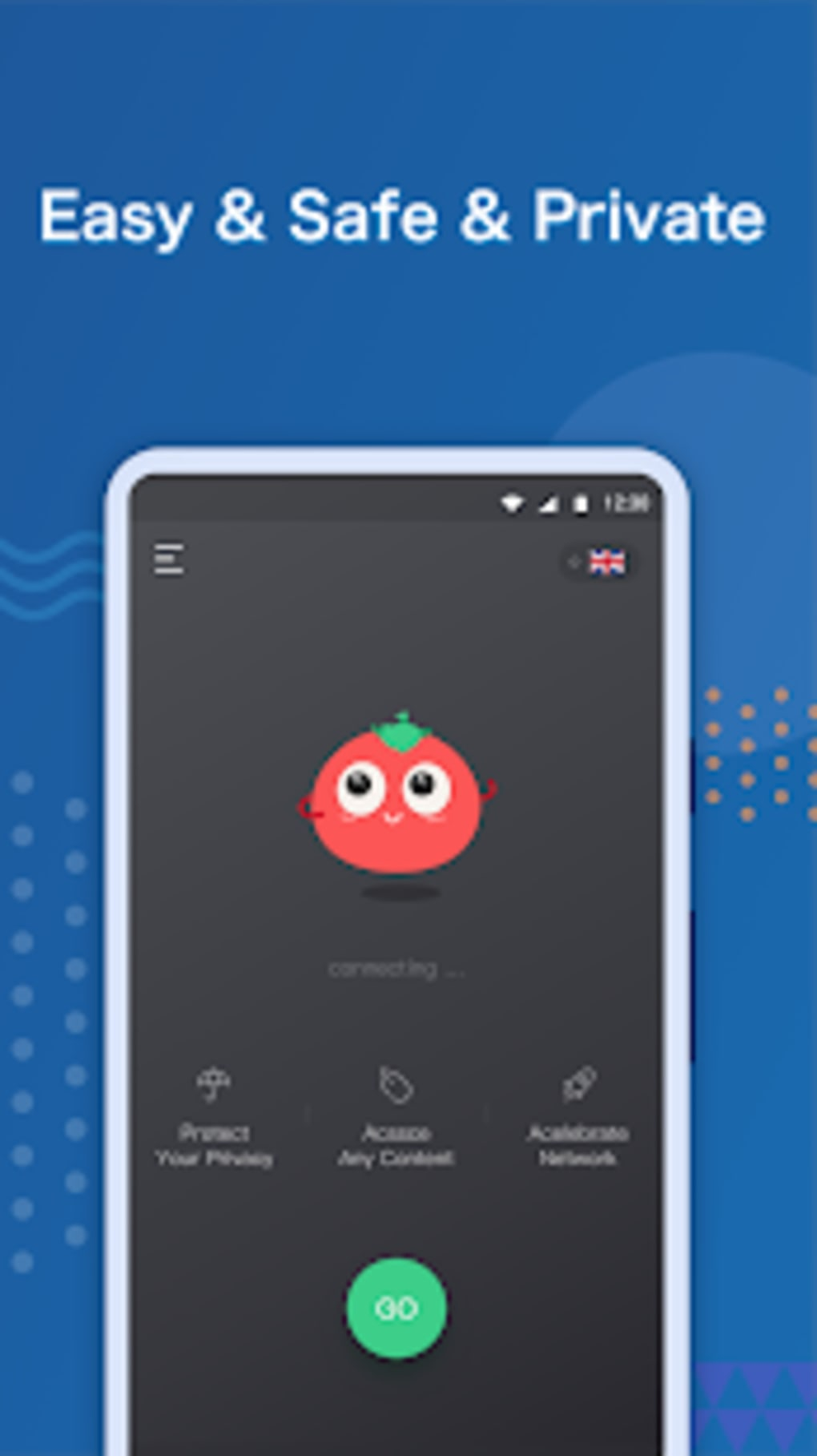 VPN Tomato 2: Unlimited Free VPN Proxy Unblock for Android - Download