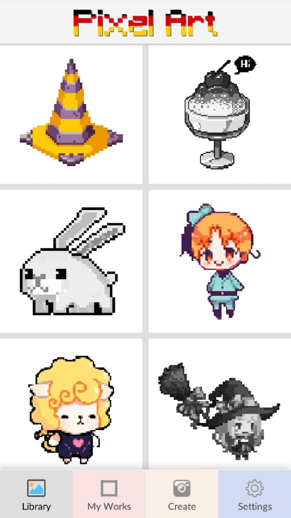 Pixel Art Color By Numbers Download