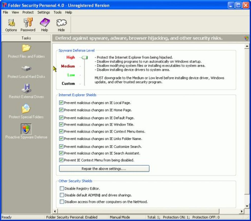 folder guard license key free