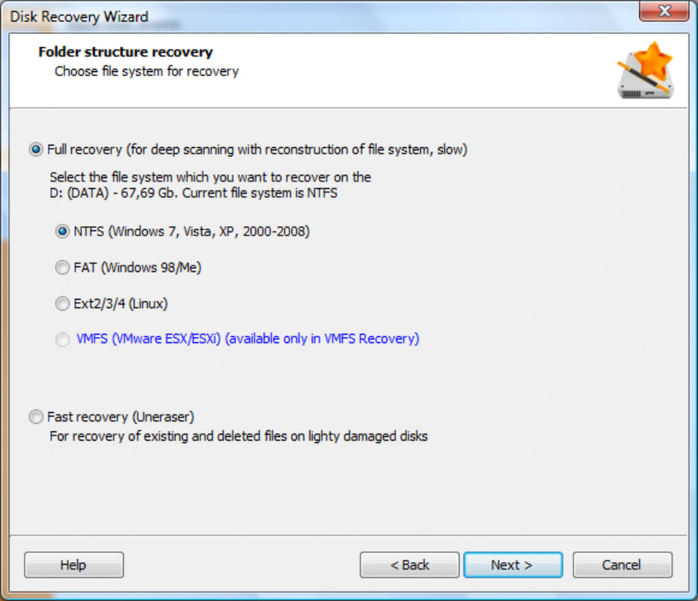 Download Disk Recovery Wizard For PC Dekstop - classroom ...