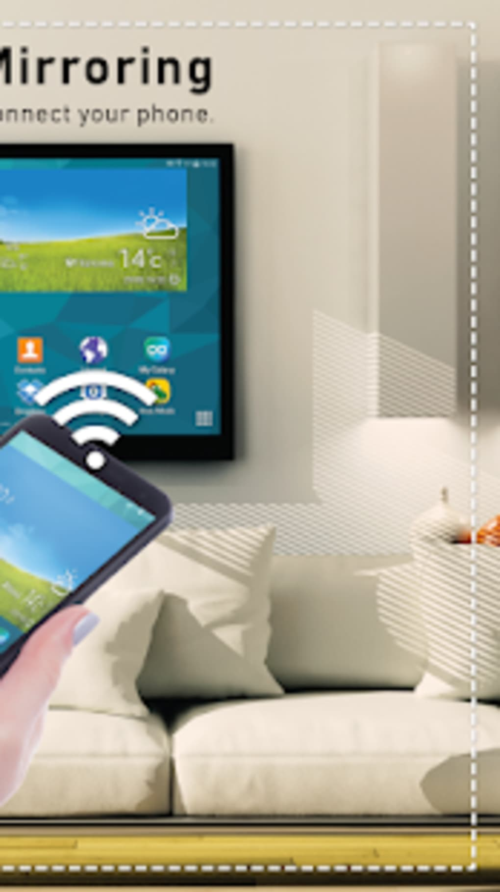 Screen Sharing - Screen Share with Smart TV for Android