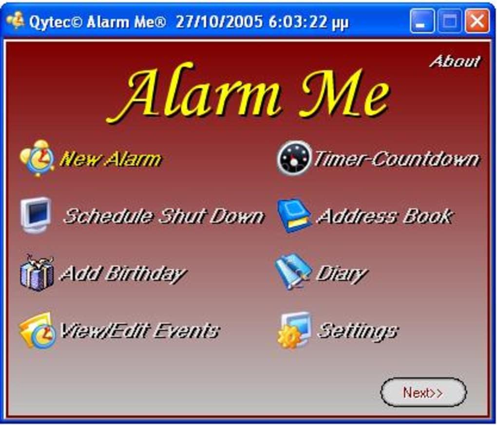 Alarm Me - Download