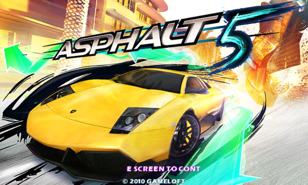 Asphalt 5 untuk Android - Unduh
