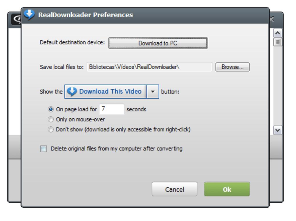RealDownloader - Download