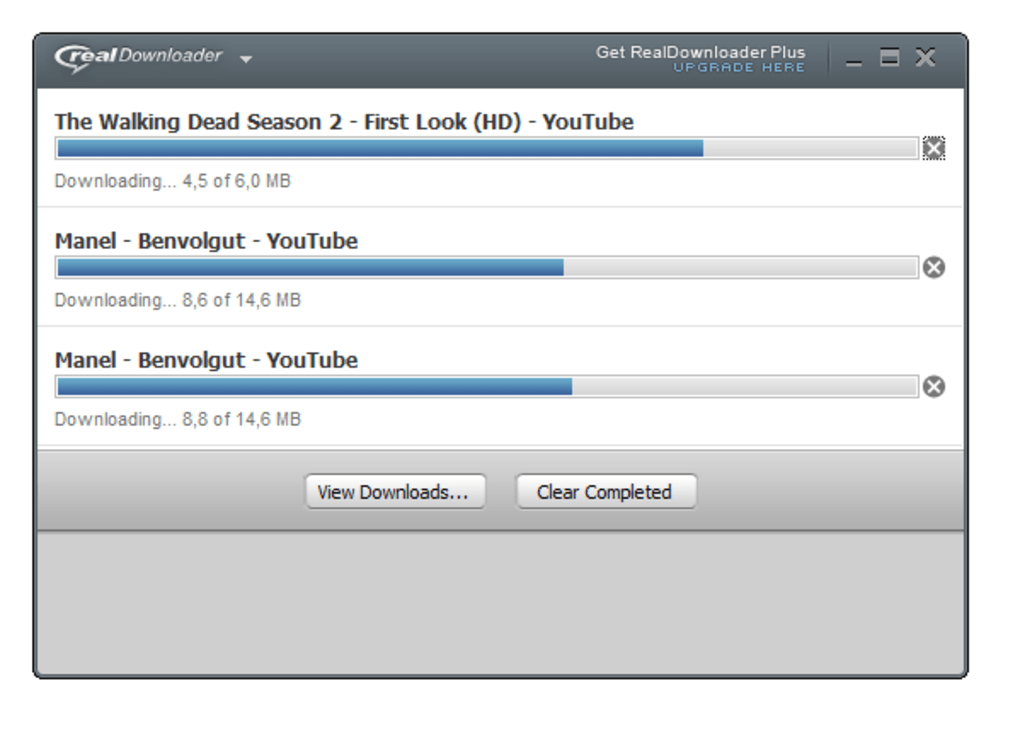 free download realplayer video downloader in youtube