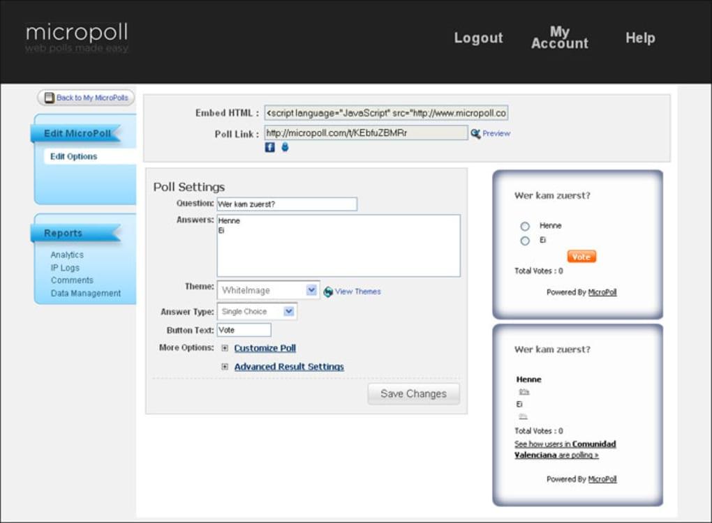 Micropoll Online