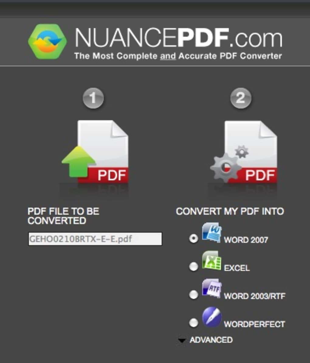 nuance pdf converter para mac download. Black Bedroom Furniture Sets. Home Design Ideas