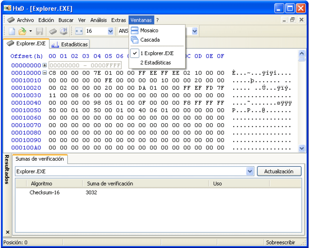 HxD Hex Editor - Download