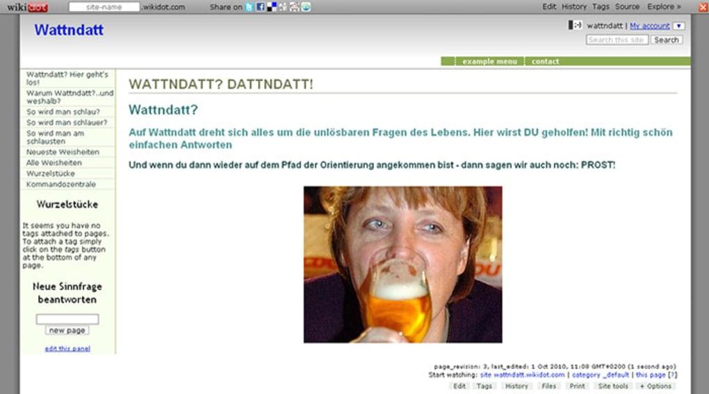 Wikidot online