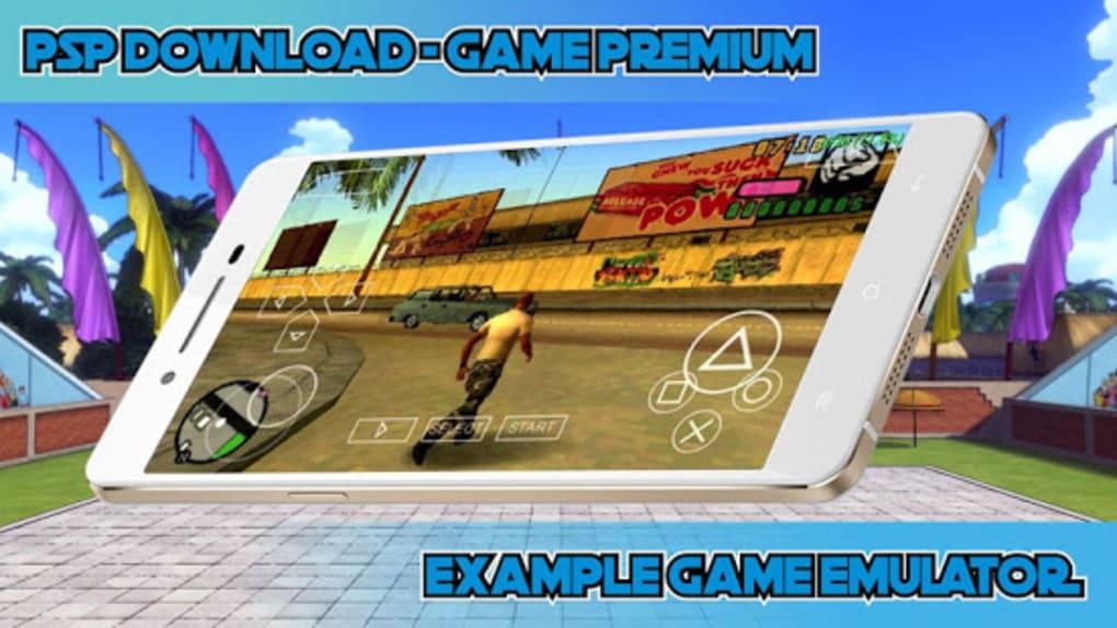 psp emulator games for android download