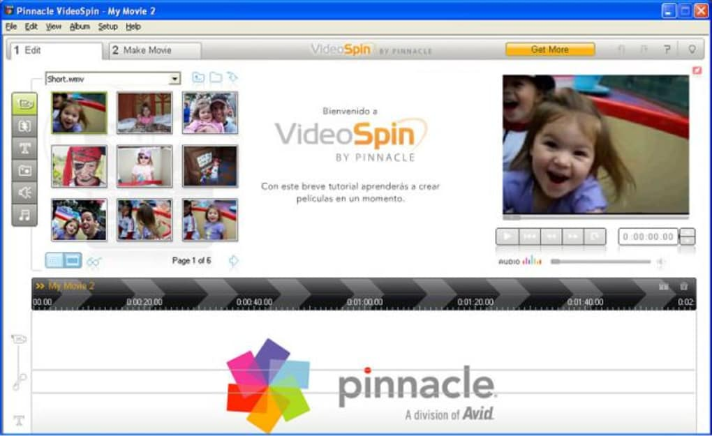 pinnacle videospin softonic