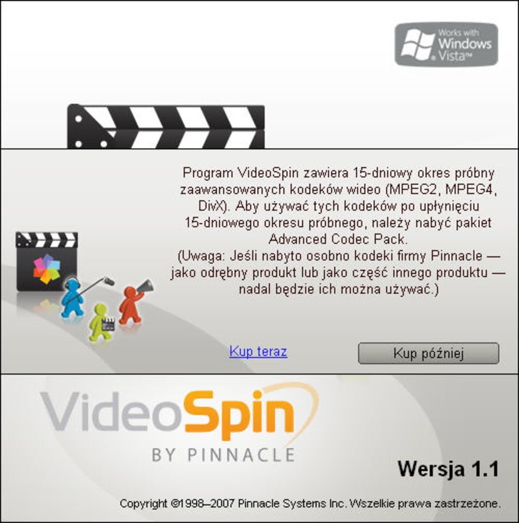 codec videospin