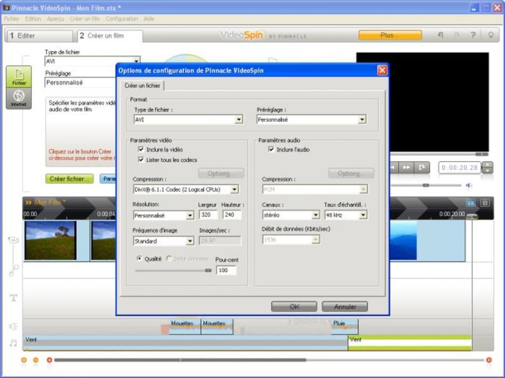 logiciel videospin gratuit