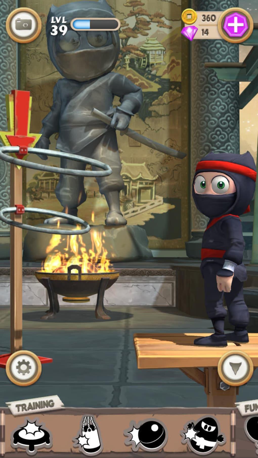 clumsy ninja kostenlos
