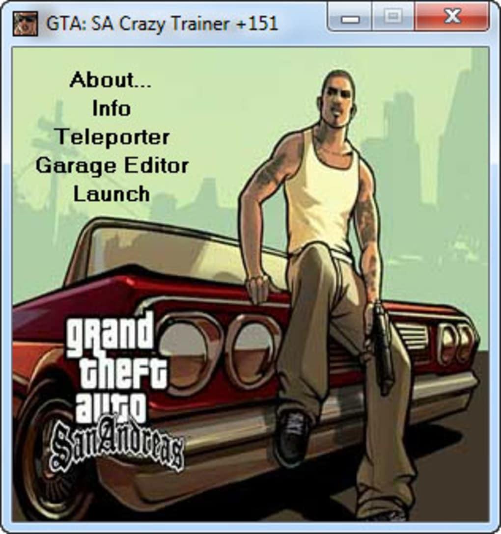Gta San Andreas Ultimate Trainer Download