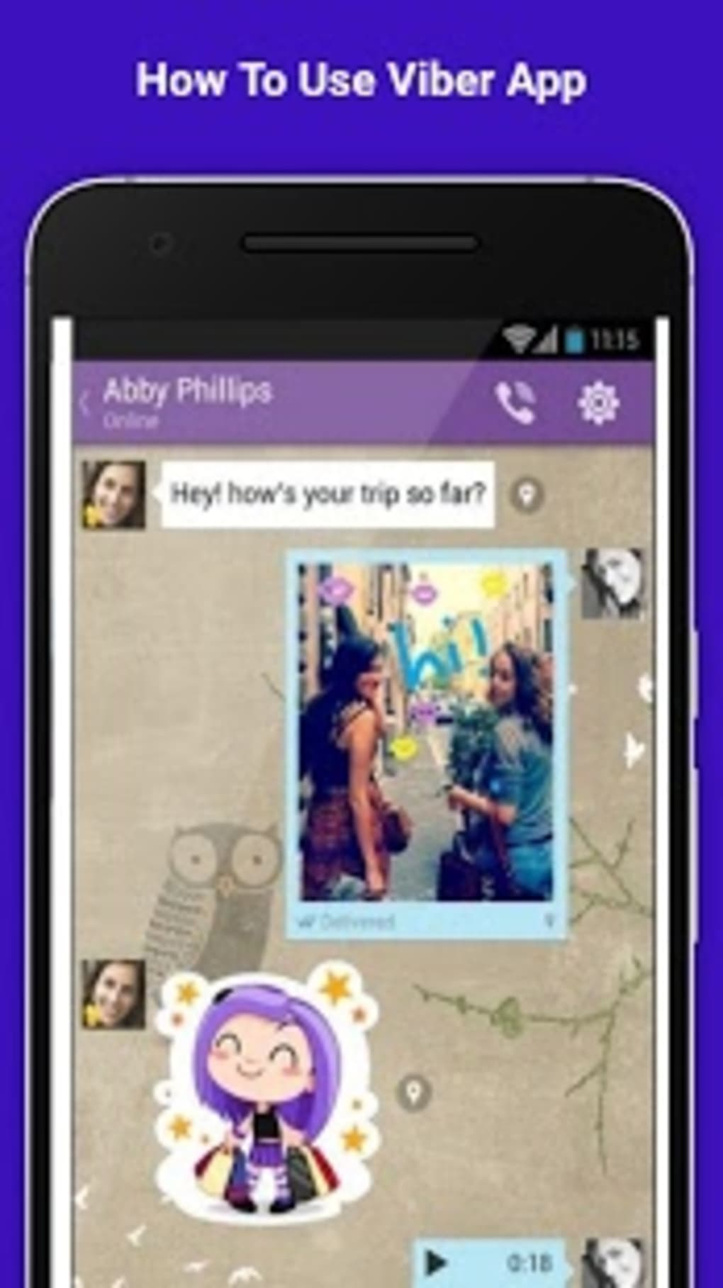 Free Viber Video Call Guide for Android - Download