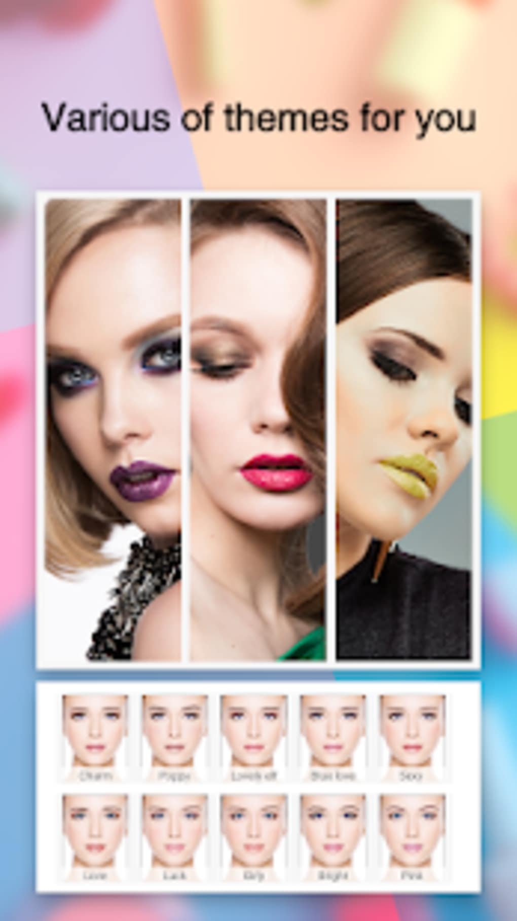 makeup editor beauty photo editor selfie camera for android