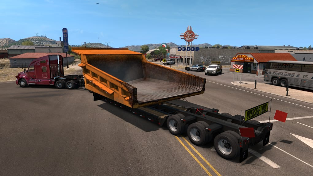 American truck simulator - special transport download free play