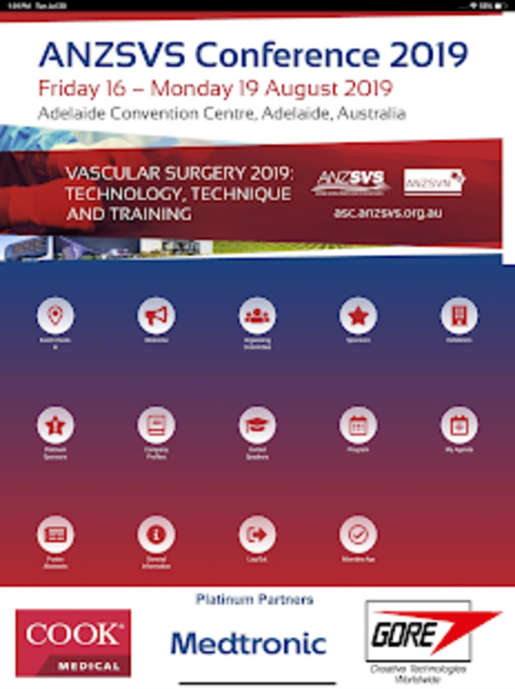 ANZSVS 2019 Conference for Android - Download