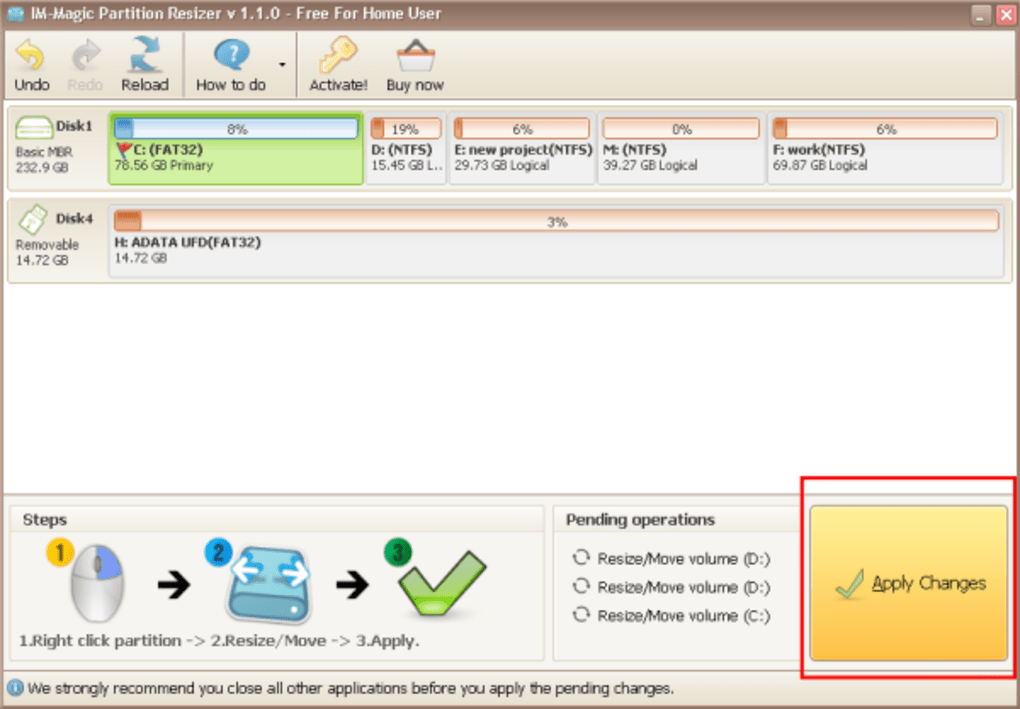 Im-magic partition resizer free download.
