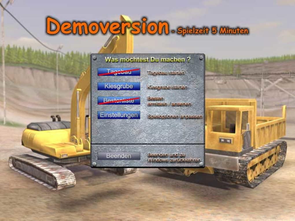 bagger simulator 2008 vollversion