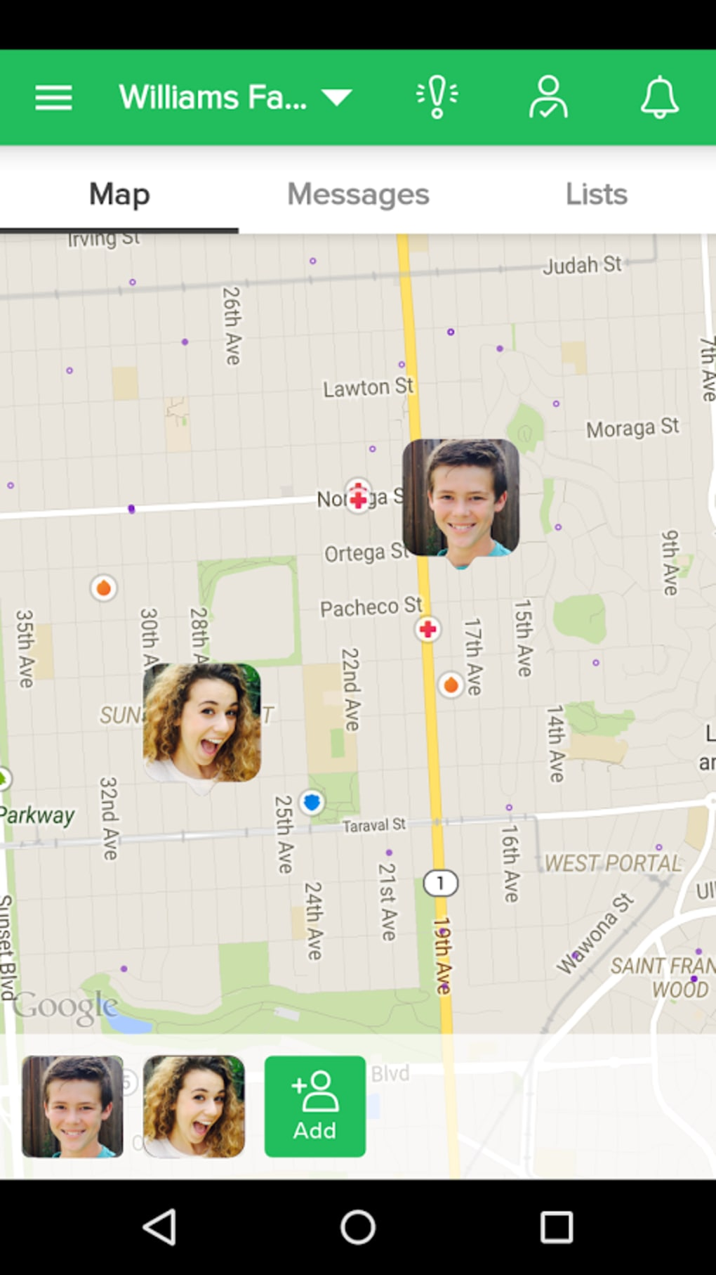 GPS Tracking Application for Mobile Phones