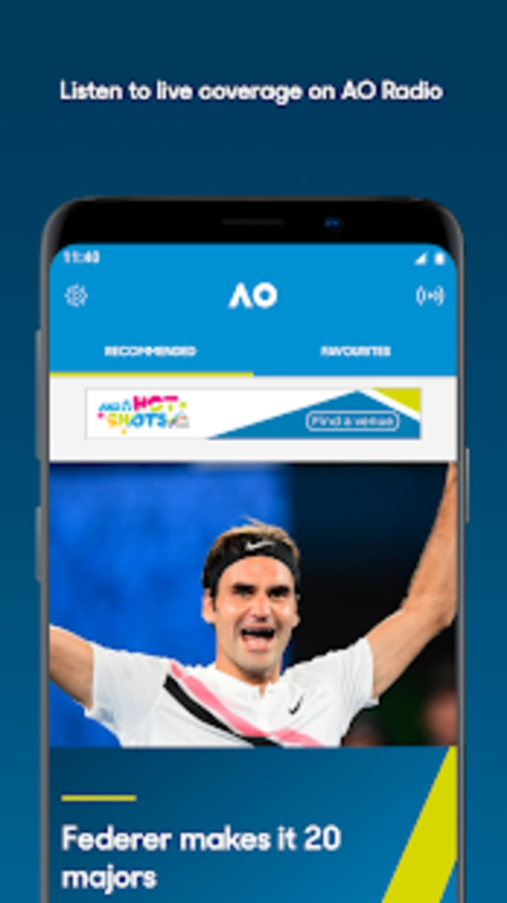 Australian Open Tennis 2019 For Android Download